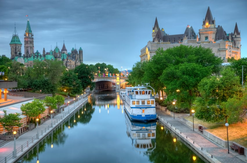 Photo of the Ottawa Canal