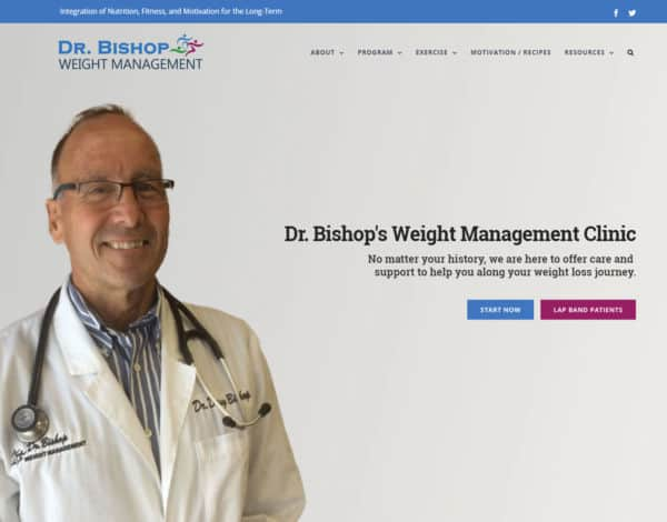 Portfolio Image for Dr. Bishop